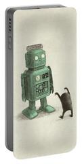 Robot Vs Alien Portable Battery Charger
