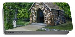 Rock Chapel Louisiana Church Portable Battery Charger