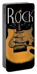 Rock Guitar Music Notes Portable Battery Charger