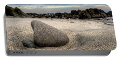 Rock On Beach Portable Battery Charger