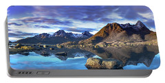 Rock Reflection Landscape Portable Battery Charger