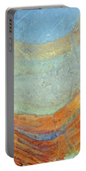 Rock Stain Abstract 7 Portable Battery Charger