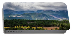 Portable Battery Charger featuring the photograph Rocky Foothills by James L Bartlett