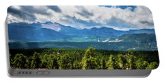 Portable Battery Charger featuring the photograph Rocky Mountain Np I by James L Bartlett