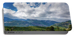 Portable Battery Charger featuring the photograph Rocky Mountain Np II by James L Bartlett