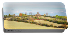 Rolling Hills In Fall Portable Battery Charger