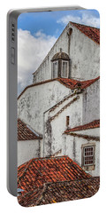 Rooftops Of Obidos Portable Battery Charger