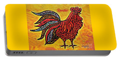 Rooster In The Moring Portable Battery Charger