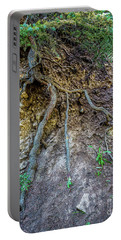 Portable Battery Charger featuring the photograph Root System by Jon Burch Photography
