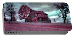 Rose Farm In Infrared Portable Battery Charger