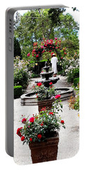 Rose Garden Portable Battery Charger
