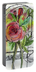 Rose Is Rose Portable Battery Charger