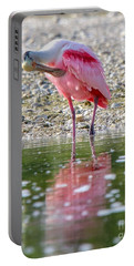 Roseate Spoonbil Portable Battery Charger