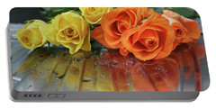 Roses 1 Portable Battery Charger