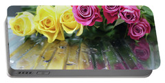Roses 2 Portable Battery Charger