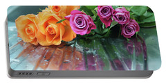 Roses 3 Portable Battery Charger