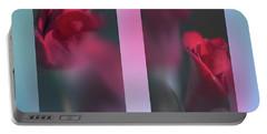 Portable Battery Charger featuring the photograph Roses by Karen Rispin