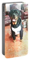 Rottie Portable Battery Charger