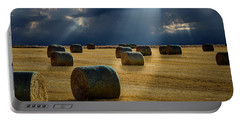 Round Bales Portable Battery Charger