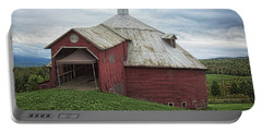 Round Barn - Mansonville, Quebec Portable Battery Charger