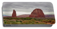 Portable Battery Charger featuring the photograph Round Rock by James BO Insogna