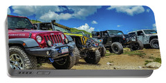 Row Of Jeeps Portable Battery Charger