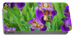 Royal Purple Irise Portable Battery Charger