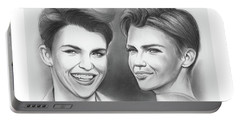 Ruby Rose Portable Battery Charger