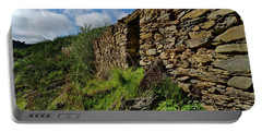 Ruins Of A Schist Cottage In Alentejo Portable Battery Charger