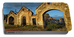 Ruins Of The Abandoned Mine Of Sao Domingos. Portugal Portable Battery Charger