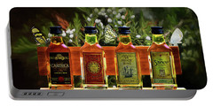 Portable Battery Charger featuring the photograph Rum Rum And More Rum by Ericamaxine Price