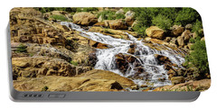 Portable Battery Charger featuring the photograph Runoff by Jon Burch Photography