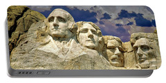 Portable Battery Charger featuring the photograph Rushmore by Edmund Nagele