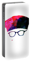 Rushmore Watercolor Portable Battery Charger