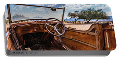 Rusty Car Leftovers Portable Battery Charger