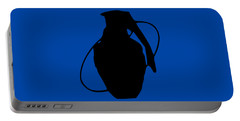 Portable Battery Charger featuring the digital art Sa Grenade by Bfm