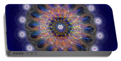 Sacred Geometry 726 Portable Battery Charger