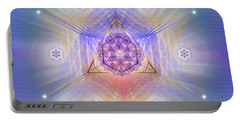 Sacred Geometry 734 Portable Battery Charger