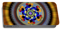 Sacred Geometry 740 Number 1 Portable Battery Charger