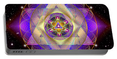Sacred Geometry 741 Portable Battery Charger