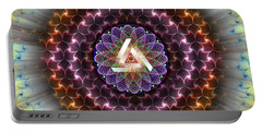 Sacred Geometry 742 Portable Battery Charger