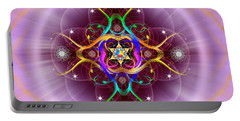 Sacred Geometry 757 Portable Battery Charger