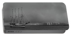 Sail In The Fog Portable Battery Charger