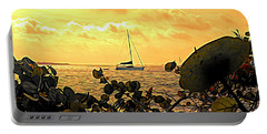 Sail The Manatee River Portable Battery Charger