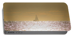 Portable Battery Charger featuring the photograph Sailing On Sunshine by Robert Banach