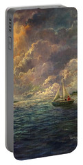 Sailing The Divine Light Portable Battery Charger