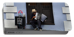 San Juan Accordion Player - 5 Years On Portable Battery Charger