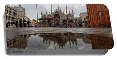 San Marco Cathedral Venice Italy Portable Battery Charger