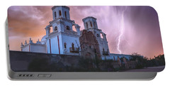 San Xavier Mission Lightning Portable Battery Charger