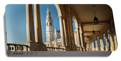 Sanctuary Of Fatima, Portugal Portable Battery Charger